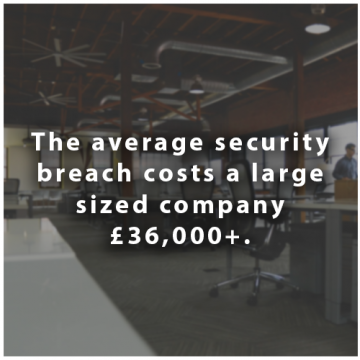Company security statistics